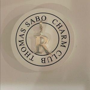 "Thomas Sabo letter ""R"" charm"